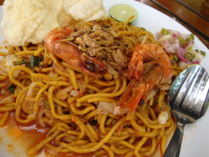 mie aceh udang